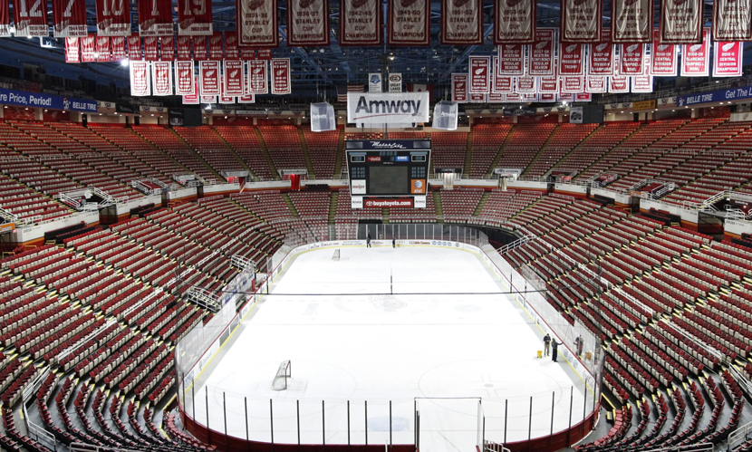 2012 NHL Lockout: Empty Arena