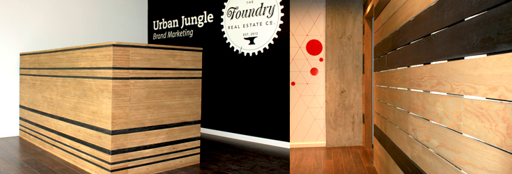 urban-jungle-reception-desk-plywood-wall