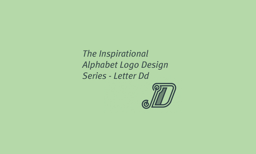 Inspirational Alphabet Logo Design: The Letter d