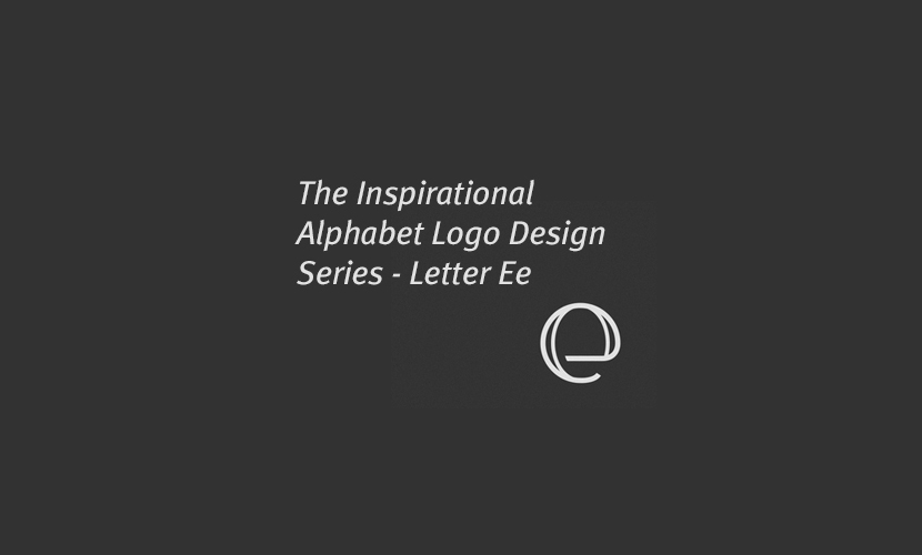 Inspirational Alphabet Logo Design: The Letter e