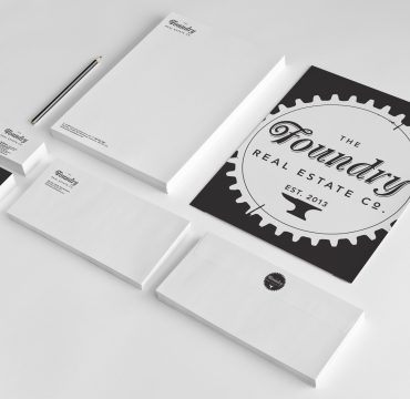 Foundry Real Estate Co. Stationery